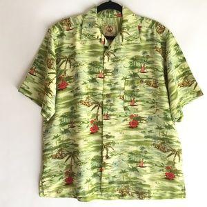 Joe Marlin Men's Shirt Size Large  Hawaiian